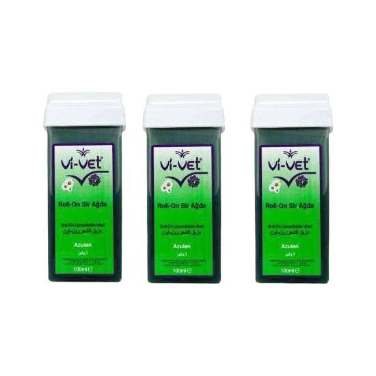 Vi-Vet Roll-On 100 ml Azulen 3'lü Set