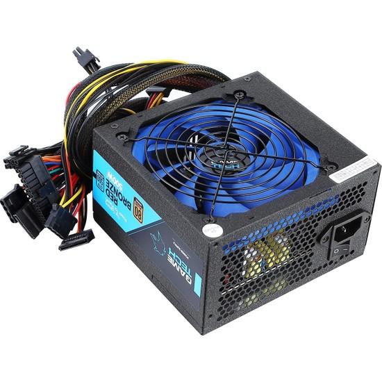 GameTech GTP-500 500W 80 Plus Bronze Sertifikalı Power Supply PC Güç Kaynağı