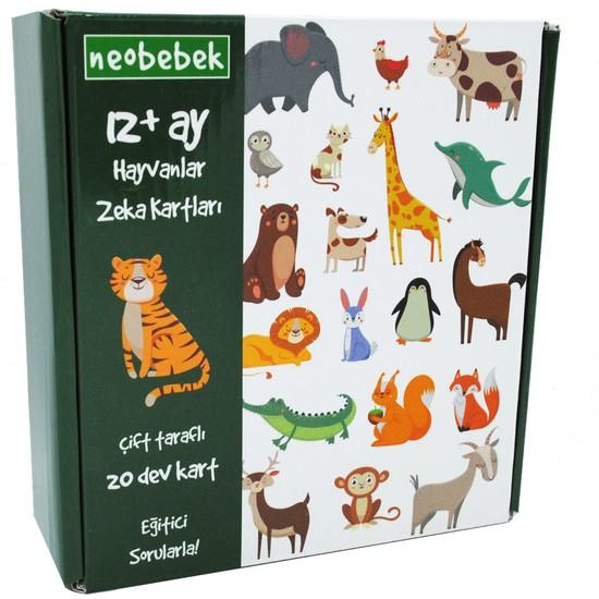 Neobebek Hayvanlar Zeka Kartları