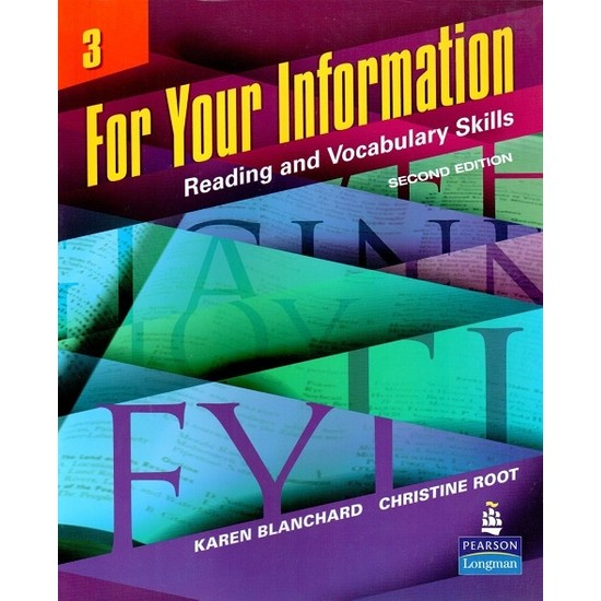For Your Information 3: Reading And Vocabulary Skills (2nd Edition)