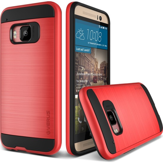 VRS HTC One M9 Verge Kılıf Red