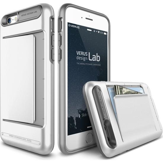 VRS iPhone 6 / 6s Damda Clip Kılıf White