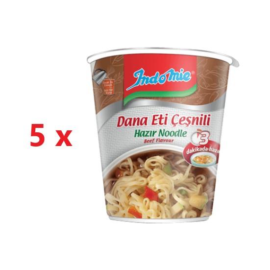 Indomie 5'li Cup Dana Eti Çeşnili