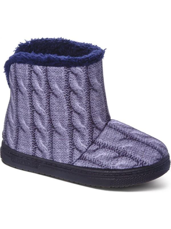 Sanbe 105 P 031 20-25 Kız Çocuk Panduf Ayakkabı Gri