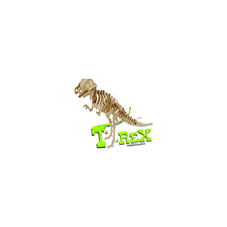 Pershang T Rex Dinazor 33 Parca Ahsap 3d Puzzle Fiyati