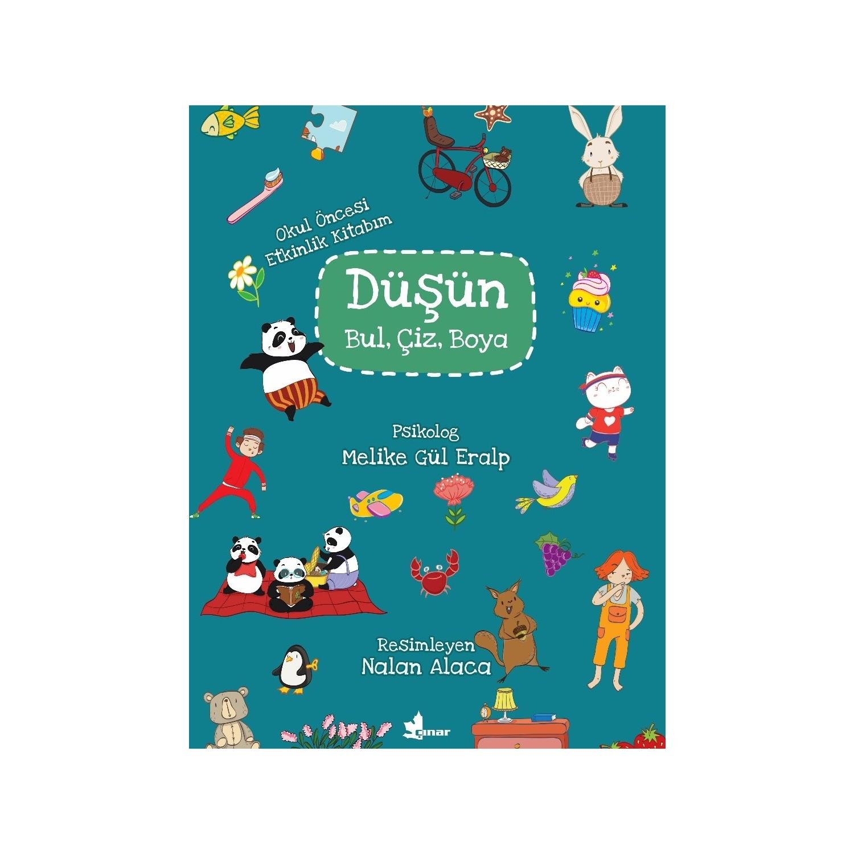 Dusun Bul Ciz Boya Okul Oncesi Etkinlik Kitabim Melike Fiyati