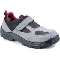 BMES 1453 İş Güvenlik Ayakkabısı S1 Yazlık Gri Süet