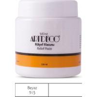 Artdeco Rölyef Macunu 220 ml Beyaz 915
