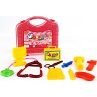 Funny Toys Çantalı Doktor Seti 11 Parça Kırmızı Kutuda