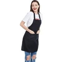 Apron Şef Aşçı Garson Önlüğü Boyundan Askılı Leke Tutmaz Cepli Önlük