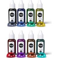 Tone Transparent 8'li Transparan Epoksi Pigment Renklendirici 8 x 20 gr