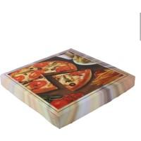Kutu Dünyası Geçmeli Standart Pizza Kutusu 100'lü