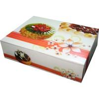 Kutu Dünyası Standart Şekilli Pasta Kutusu 25'li