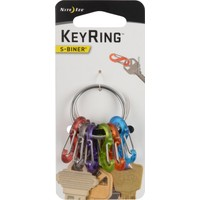 Nite Ize S-Biner KeyRing Anahtarlık-Çelik