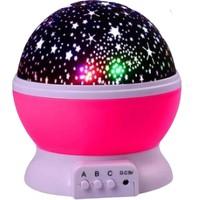 TeknoNow Dönen Star Master Renkli Gece Lambası