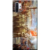 Kılıf Merkezi Samsung Galaxy Note 10 Plus Kılıf SM-N975F Baskılı Silikon Zafer Bayramı STK:102
