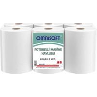 Omnisoft Fotoselli Hareketli Kağıt Havlu 21 cm 6 Rulo