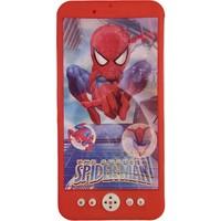 Suden Örümcek Adam Desenli Işıklı Müzikli Telefon