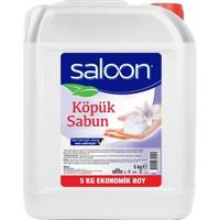 Saloon Köpük Sabun Şeffaf Floral 5l