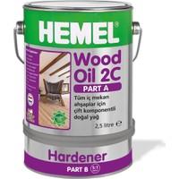 HEMEL Arge Wood Oil 2C Çift Komponentli Doğal Yağ Naturel 300 gr