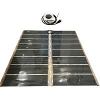 Multiteknik Analog Termostatlı Heat Plus Bağlantılı Halı Altı Isıtıcı 4M2 Halı İçin (160X200 Cm) Kullanıma Hazır