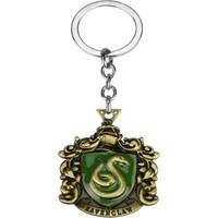 AlpCollection Harry Potter Slytherin Hogwarts Metal Anahtarlık
