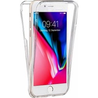 Kılfreyonum Apple iPhone 6/6S Ön Arka Şeffaf 360 Derece Tam Korumalı Kılıf