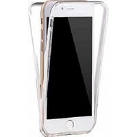 Kılfreyonum Apple iPhone 7 Ön Arka Şeffaf 360 Derece Tam Korumalı Kılıf