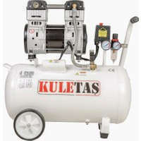 Kuletaş 50 Litre Ultra Sessiz Yağsız Hava Kompresörü