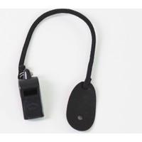 Moda Canel Güvenlik Plastik Düdük Siyah