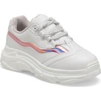 I Cool Chunky Beyaz Kız Çocuk Sneaker Ayakkabı