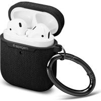 Spigen Apple AirPods 2/1 Nesil Uyumlu Kılıf Urban Fit Dokuma Black - 074CS27030