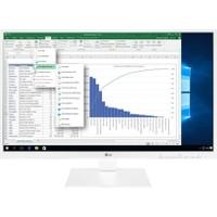 """LG 27BK550Y-W 27"""" 5ms (HDMI+Analog+Display) Full HD IPS Monitör"""