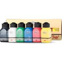 Artdeco Akrilik Boya Set Canlı Renkler 6 x 75ml 070I