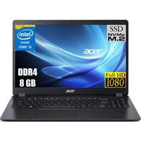 "Acer Aspire 3 A315-54K Intel Core i5 6200U 8GB 256GB SSD Freedos 15.6"" FHD Taşınabilir Bilgisayar NX.HEEEY.002"
