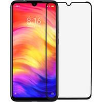 Microlux Xiaomi Redmi Note 7 Ekran Koruyucu 9D Tam Kaplama