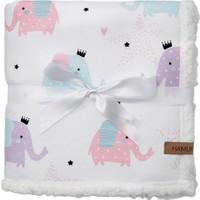 Hamur Fluffy Bebek Battaniyesi Elephant