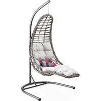 Capri Swing - Bodrum - Tek Kişilik Rattan Bahçe Balkon Salıncağı