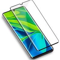 Case 4U Xiaomi Mi Note 10 / Note 10 Lite / Note 10 Pro Kılıf Ekran Koruyucu Tam Kaplayan 5D Siyah