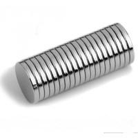 Dünya Magnet Mıknatıs Çap 8 x 1 mm Yuvarlak Süper Güçlü Neodyum Mıknatıs 25'li