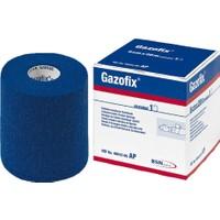 Gazofix Elastik Koheziv Fiksasyon Bandajı 8 cm x 20 mm Mavi