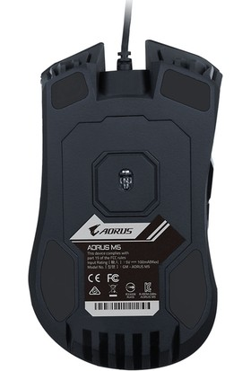 Gigabyte Aorus M5 RGB 16000DPI Oyuncu Mouse