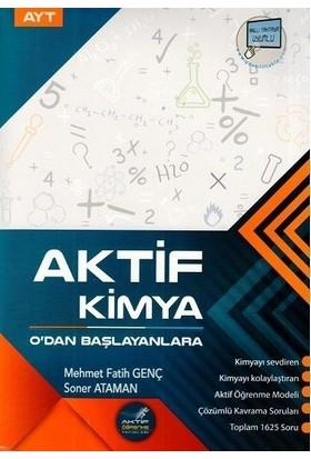 Aktif Öğrenme Yayınları AYT Aktif Kimya 0 dan Başlayanlara - Soner Ataman