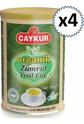 Çaykur Organik Zümrüt Yeşil Çay 125 gr 4 Adet