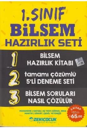 Zeki Çocuk Yayınları 1. Sınıf Bilsem Hazırlık Seti