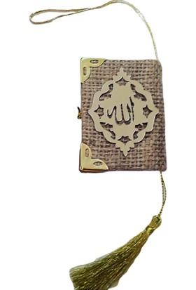 Dünya Hediye Pleksi Süslü Kuran-ı Kerim 5 x 3 cm