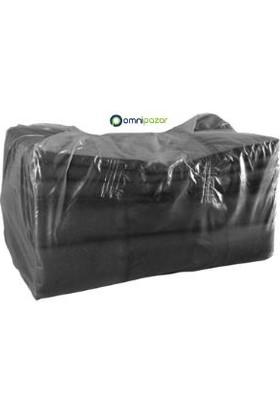 Omnisoft Dökme Çöp Torbası Siyah 100 X 150 cm 25 kg