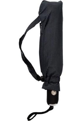 Biggbrella 1088Pr Kauçuk Saplı Otomatik Şemsiye Kareli