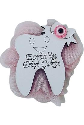 Dünya Hediye Ahşap Diş 10'lu Hediyelik