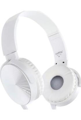Mastek Sbees TV20 Stereo Mikrofonlu Kulaklık - Beyaz